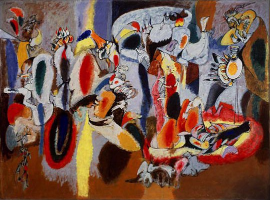 Arshile Gorky - The Liver is the Cock's Comb - 1944