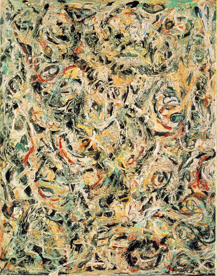 Abstract expressionism the art history archive for Mural jackson pollock
