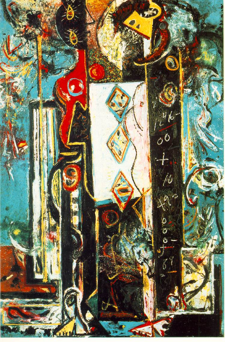 abstract expressionism the art history archive jackson pollock male and female 1942