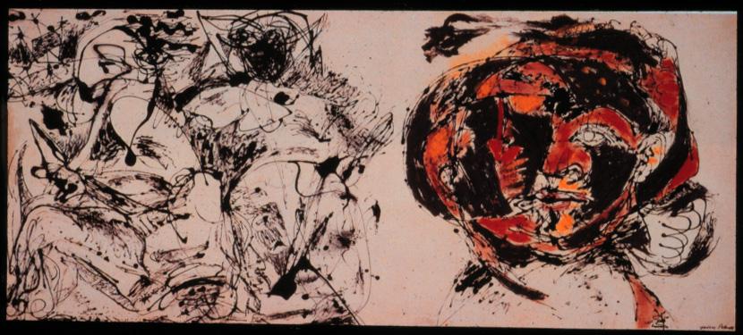 Jackson Pollock - Portrait Jackson Pollock Self Portrait