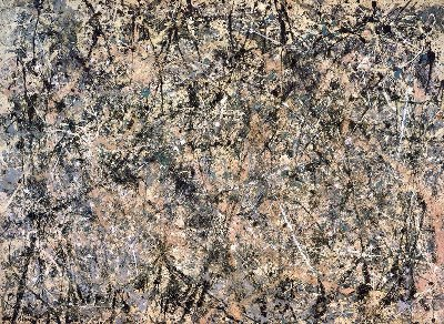 Jackson Pollock - Lavender Mist Number 1 - 1950