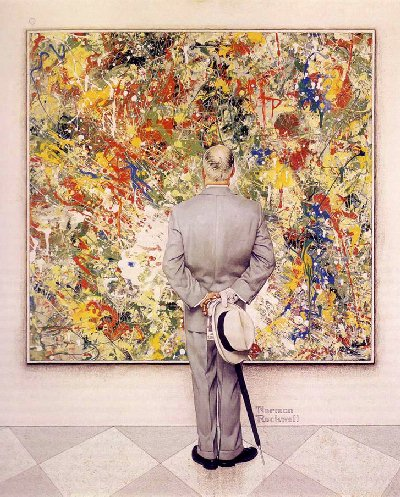 Norman Rockwell - The Connoisseur - 1962