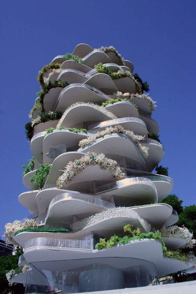 postmodern architecture homes. URBAN CACTUS HIGH-RISE. Architectural Postmodern Architecture Homes .
