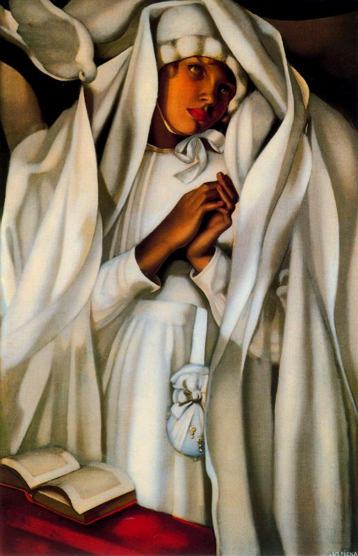 tamara de lempicka biography paintings the art. Black Bedroom Furniture Sets. Home Design Ideas