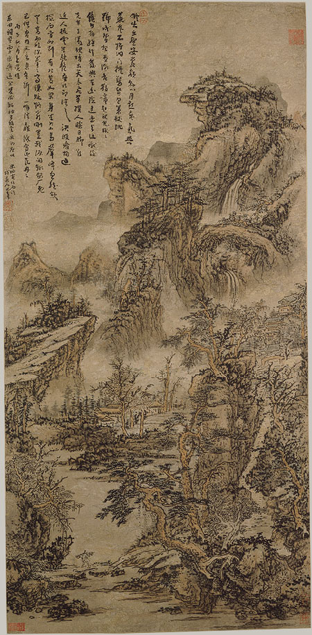 Chinese Landscape Painting - Chinese Art - The Art History ...