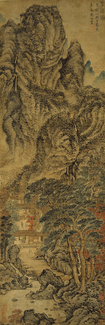 chinese landscape painting chinese art the art history archive zhao mengfu chinese 1254 1322