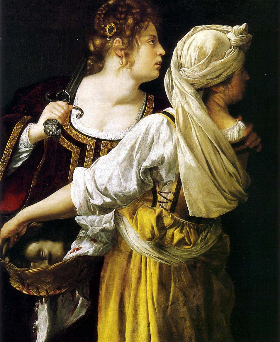 Judith and her Maidservant - 1612-13