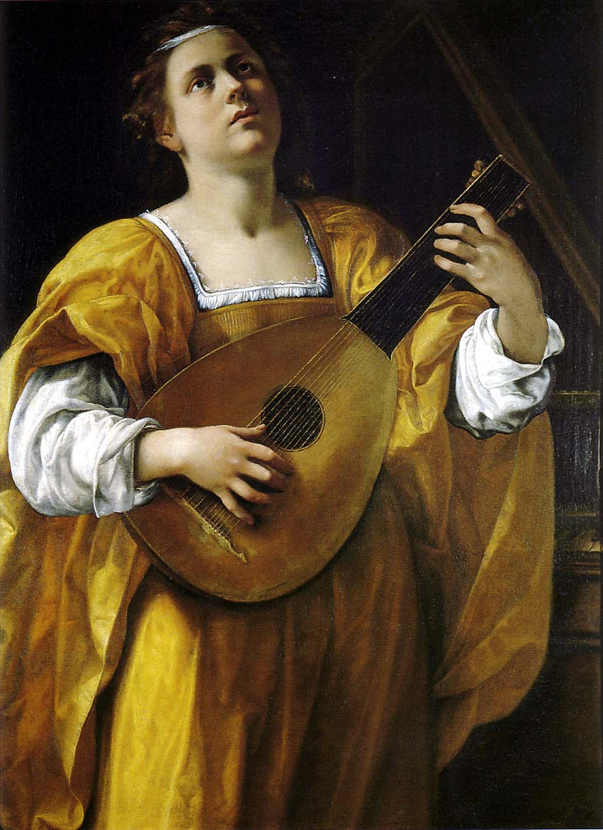 Artemisia Gentileschi - Page 2 ArtemisiaGentileschi-Woman-Playing-the-Lute-1609-12