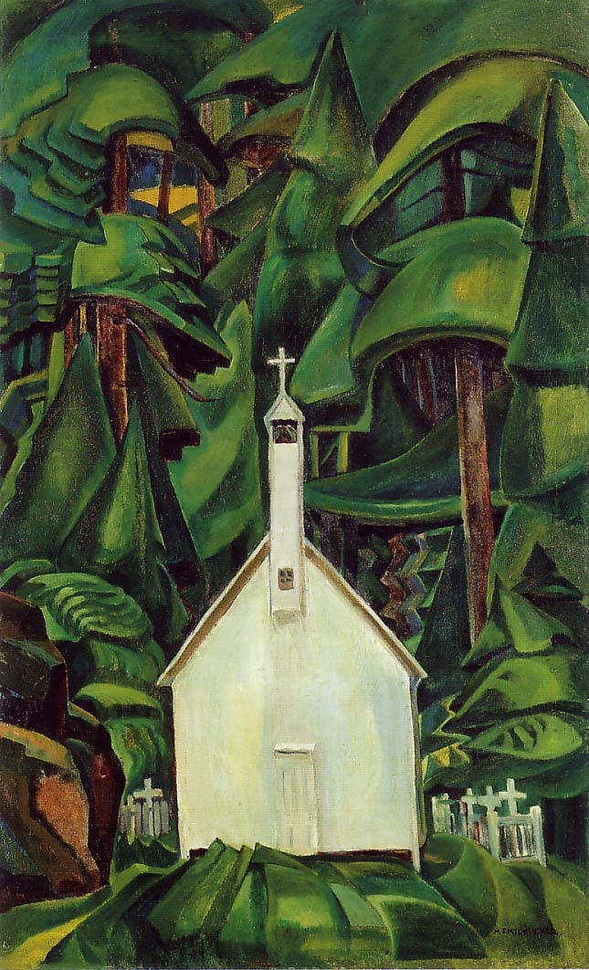 Emily Carr - Biography of a Canadian Artist - Art History