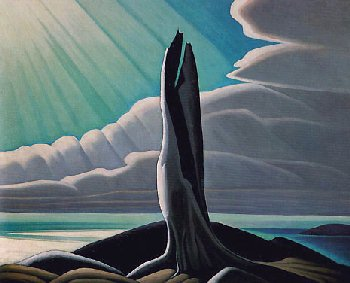 Lawren Harris - North Shore Lake Superior - 1926