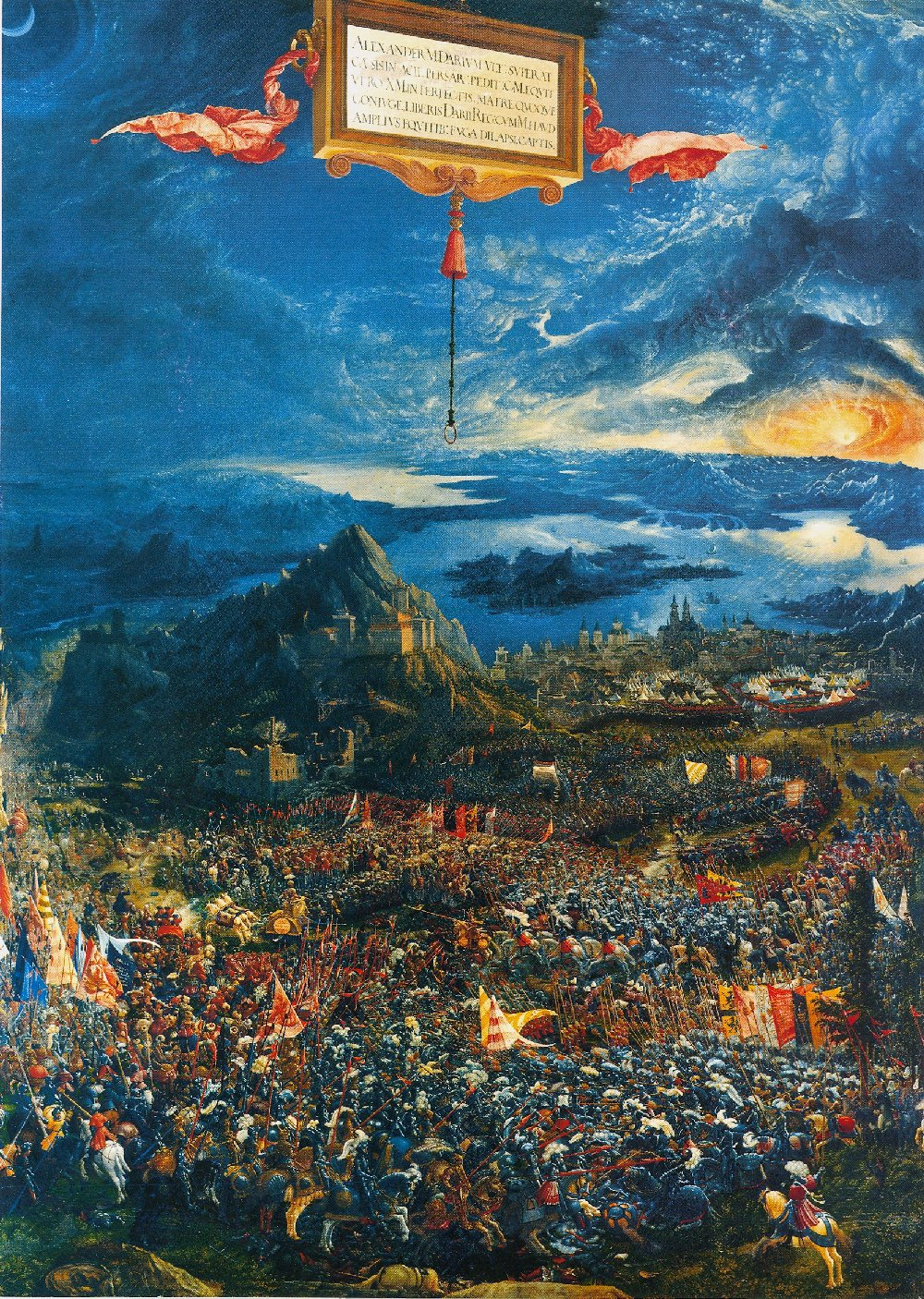 Albrecht altdorfer the art history archive for Battle of issus painting