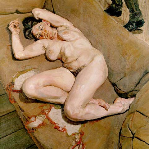 Lucian freud naked portrait share your