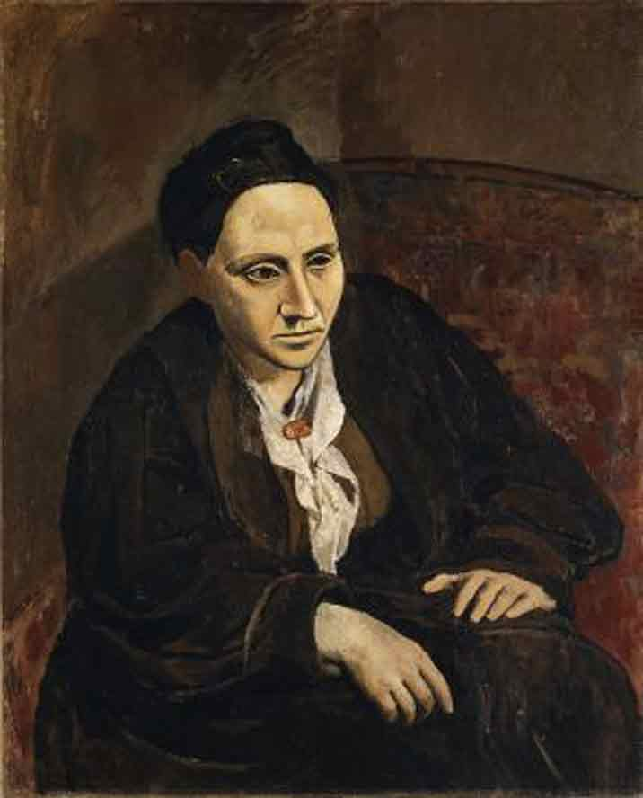 Gertrude stein and cubist poetry