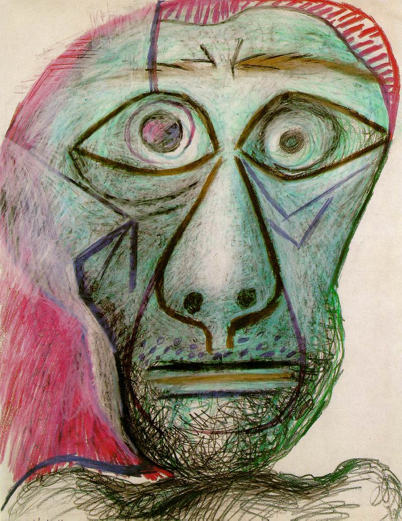 Picasso Cubist Faces Which picasso expressed