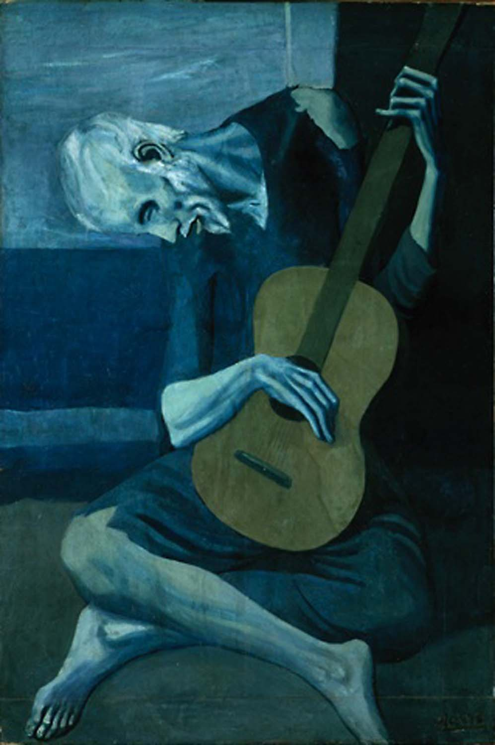 Analysis: Pablo Picasso The Old Guitarist, 1903