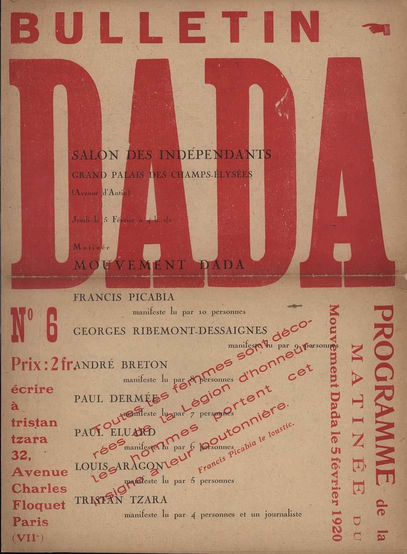 Bildergebnis für tzara dada