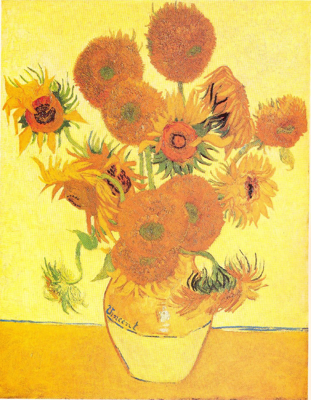 vincent van gogh biography quotes paintings the art history sunflowers 1888