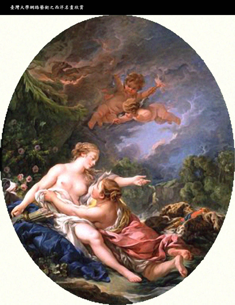Jupiter And Callisto Myth Jupiter And Callisto 1769