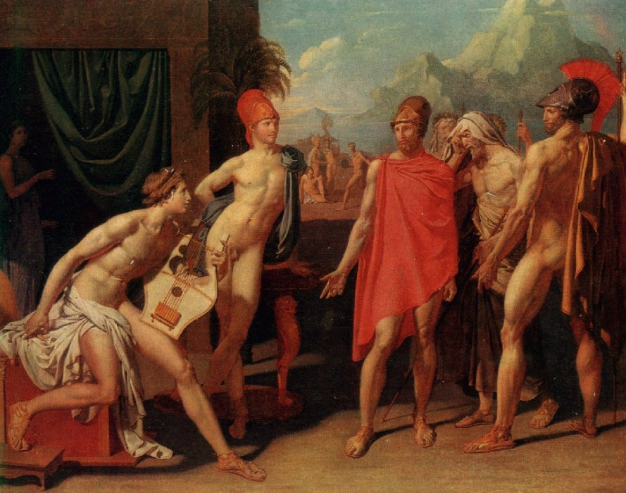 agamemnon and achilles relationship thetis