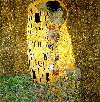 Gustav Klimt - The Kiss - 1907