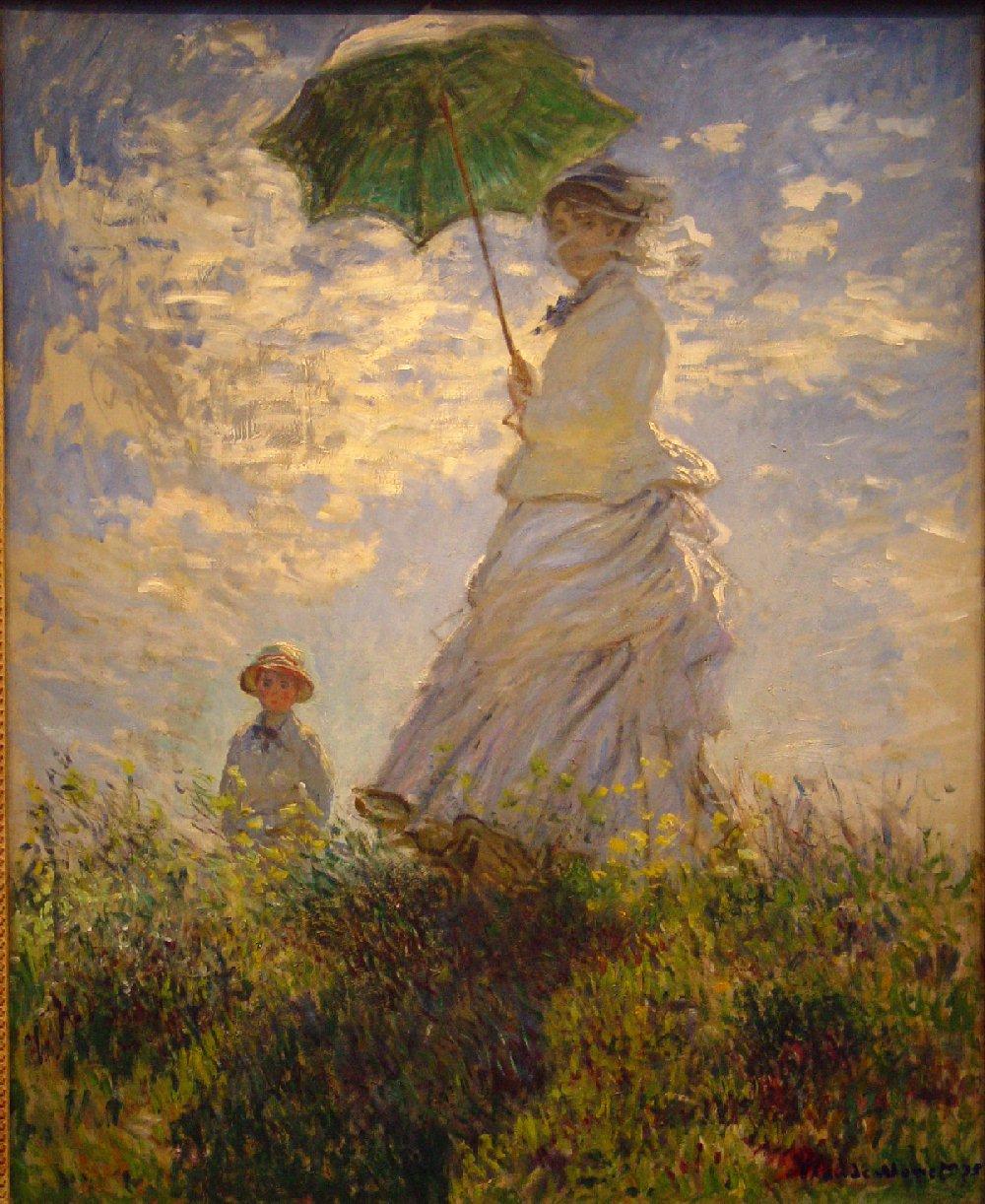 Women In The Garden Claude Monet