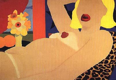 Tom Wesselmann / Great American Nude, #57 / 1964