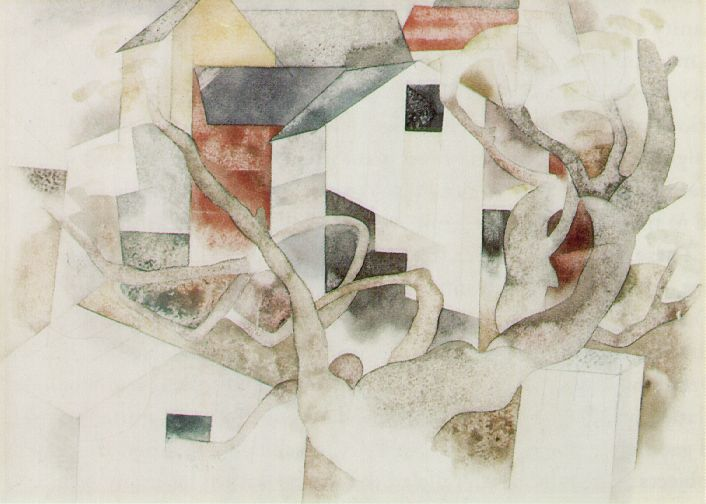 Charles demuth american precisionist painter the art for Demuths bath