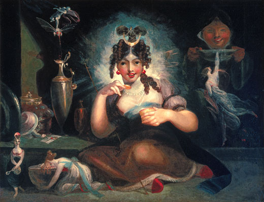 Henry Fuseli - Fairy Mab - c1815-20