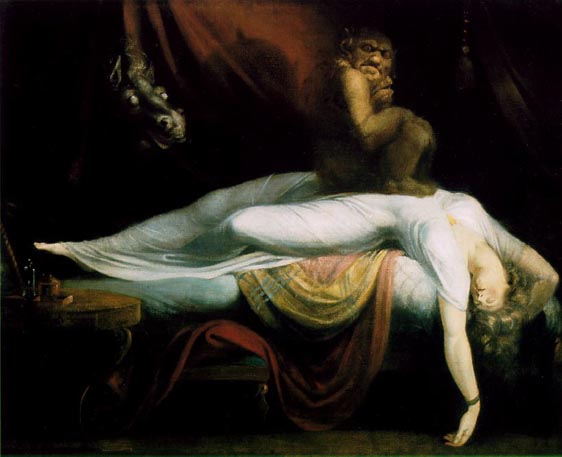 Henry Fuseli's The-Nightmare - 1781