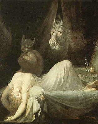 Henry Fuseli's The-Nightmare II - 1790