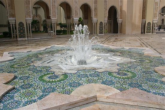 Fountain Inside Islamic Mosque