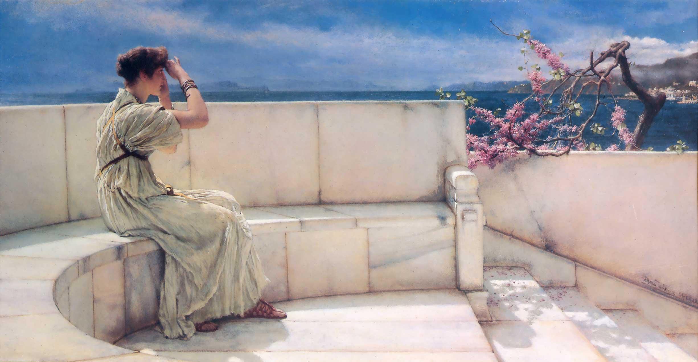 Lawrence Alma-Tadema - Page 2 LawrenceAlmaTadema-Expectations-1885