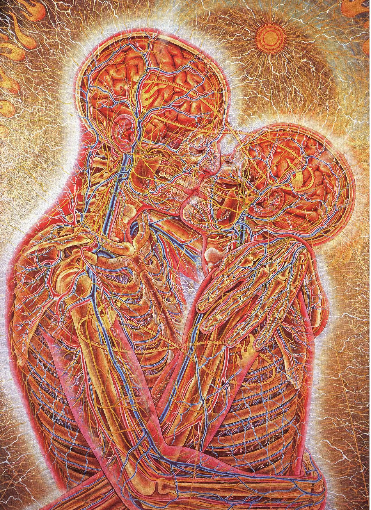 alex grey paintings